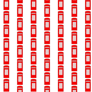 TELEPHONE BOOTH STRIPES