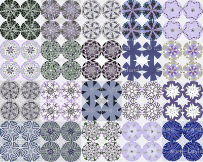 Blue Urchin Snowflake