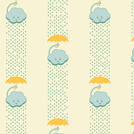 Rainy Day Stripes fabric by taylourbeadling on Spoonflower - custom fabric