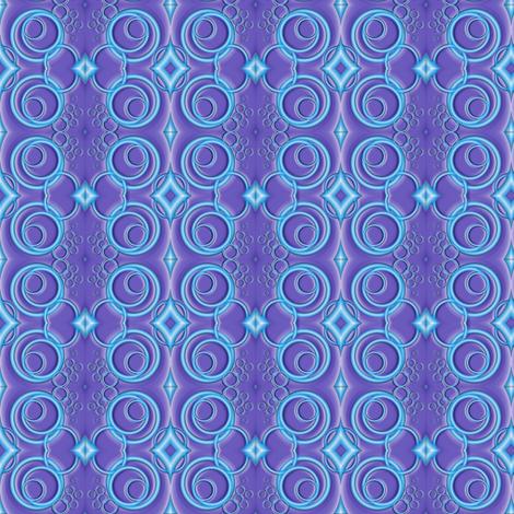 blue tracks fabric by y-knot_designs on Spoonflower - custom fabric