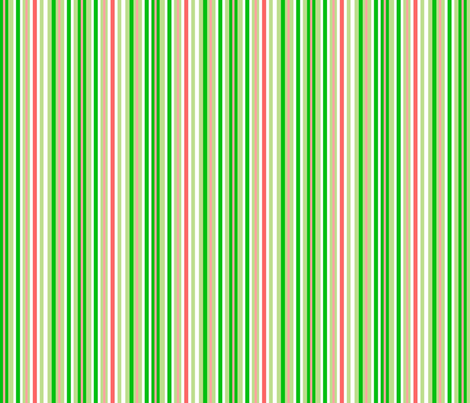 Green_Asian_Stripe fabric by almost_vintage on Spoonflower - custom fabric