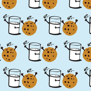 Hi hi Milk & cookie BFF