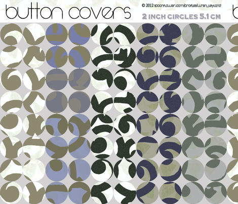 button-covers-taupe fabric by wren_leyland on Spoonflower - custom fabric