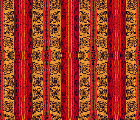 Tribal Nation fabric by whimzwhirled on Spoonflower - custom fabric