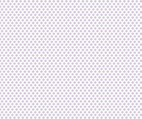 Clover in Wisteria fabric by honey&fitz on Spoonflower - custom fabric