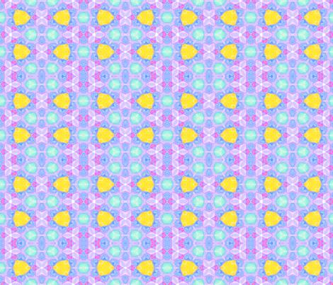Rainbow Mosaic fabric by anniedeb on Spoonflower - custom fabric