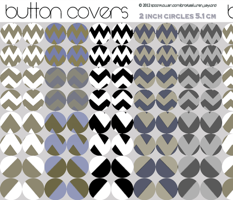 button-cover-chevron fabric by wren_leyland on Spoonflower - custom fabric