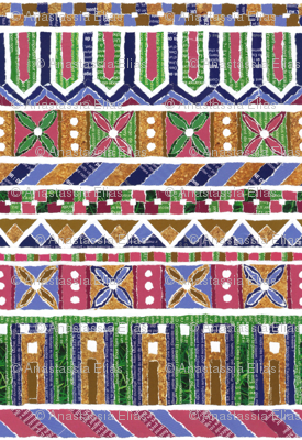 Paper mosaic N°1
