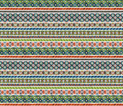 Paper mosaic N°2 fabric by anastassia_elias on Spoonflower - custom fabric