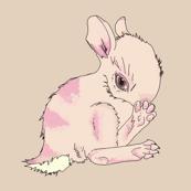 Pink & Purple Baby Bunny-ed