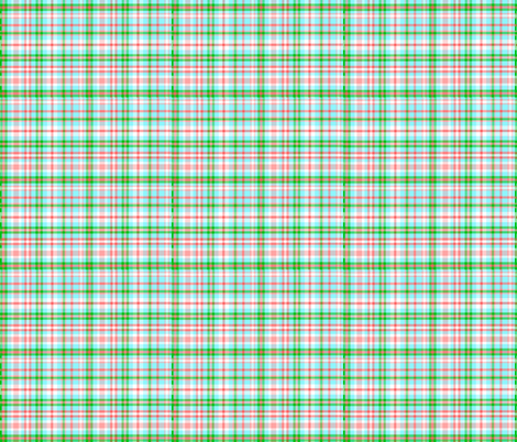 Blue Asian Plaid fabric by almost_vintage on Spoonflower - custom fabric