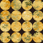Button Covers- Butternut Daisies