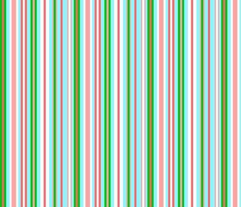 Blue_Asian_Stripe fabric by almost_vintage on Spoonflower - custom fabric