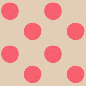 Midsummer Dots Coral