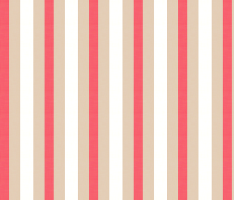 Midsummer Stripe fabric by hugandkiss on Spoonflower - custom fabric