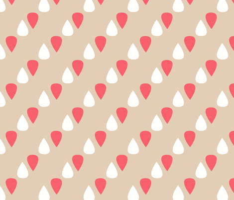 Midsummer Rain fabric by hugandkiss on Spoonflower - custom fabric