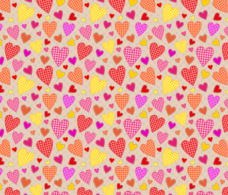 hearts_all_illustration fabric by stewsha on Spoonflower - custom fabric