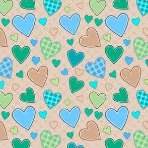 hearts_blue_green_illustration