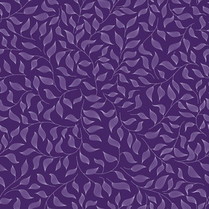 Dark violet leaves
