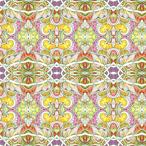 Where the Fairies Dance fabric by edsel2084 on Spoonflower - custom fabric