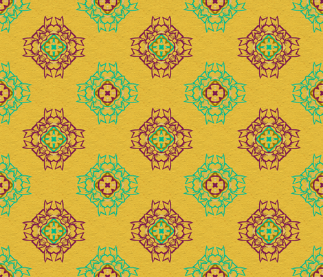 sunrise fabric by cutelilbutterfly on Spoonflower - custom fabric