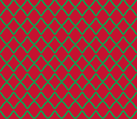 Putting the X back in Christmas fabric by susaninparis on Spoonflower - custom fabric