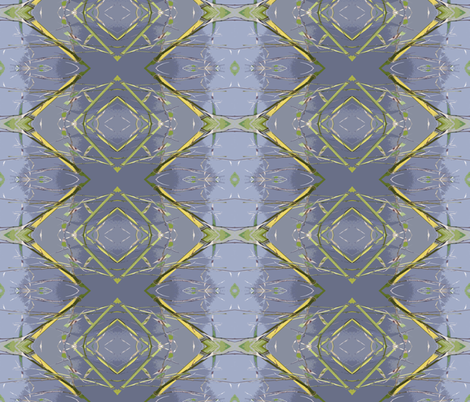 Rhythmic Atomic Bamboo fabric by susaninparis on Spoonflower - custom fabric