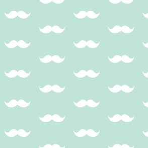 aqua mustaches