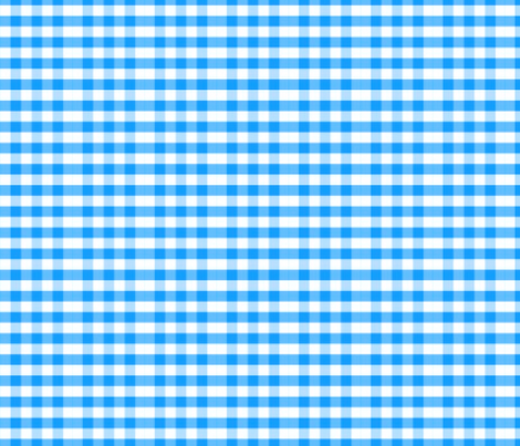 COUNTRY BLUE GINGHAM fabric by bluevelvet on Spoonflower - custom fabric
