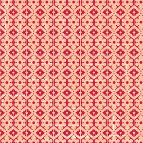Geometric Damask Design
