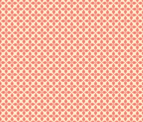 Floral Damask Design fabric by diane555 on Spoonflower - custom fabric