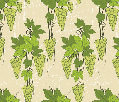 Green Grapevines fabric by diane555 on Spoonflower - custom fabric