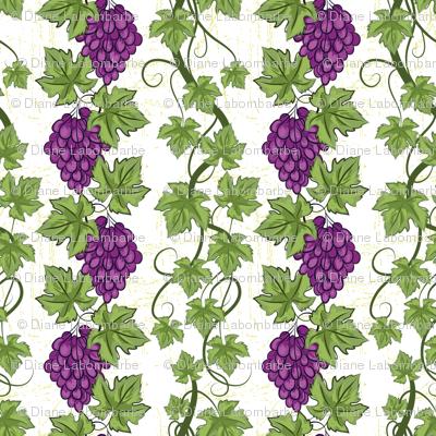 Pretty Purple Grapevines