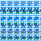 BLUEBERRY GINGHAM