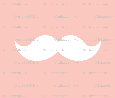 blush mustaches