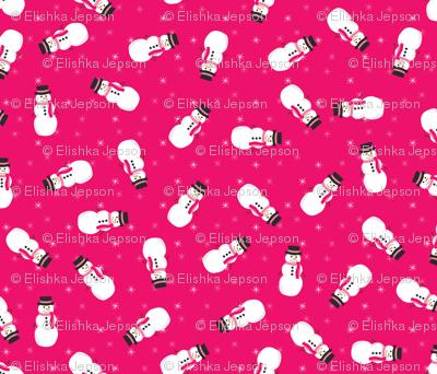 Pop Snowmen (Pink)