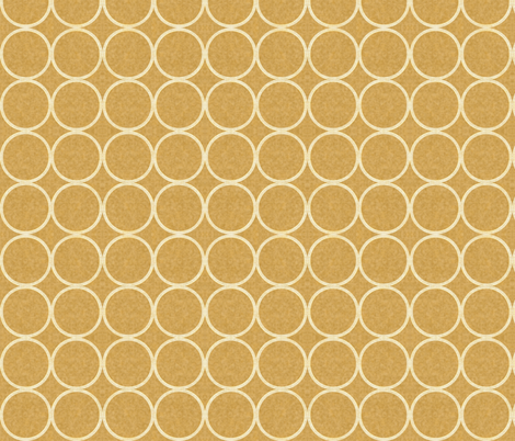 Golden (circles) fabric by kirpa on Spoonflower - custom fabric