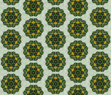 yellow_lily_quilt5 fabric by peegee on Spoonflower - custom fabric