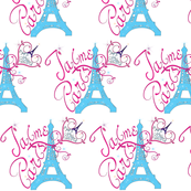 T'aime Paris-Love-Paris