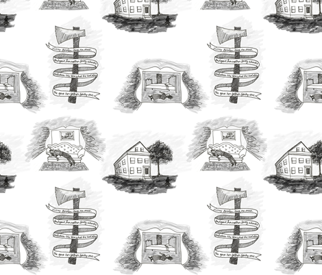 lizzie_borden_toile fabric by adrienne_speer on Spoonflower - custom fabric