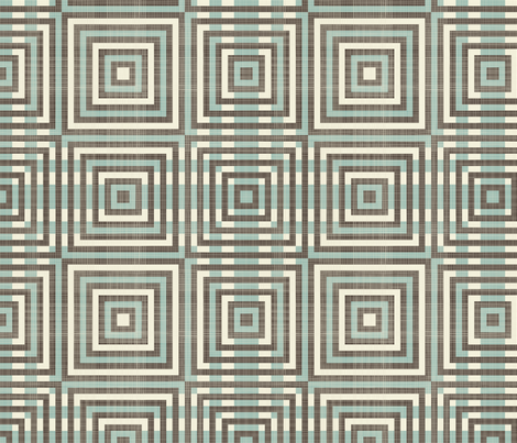 retro geometric pattern fabric by anastasiia-ku on Spoonflower - custom fabric