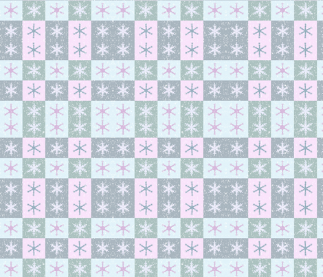 snowflake1 fabric by podaiboo on Spoonflower - custom fabric