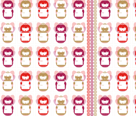 FairyDecalTags fabric by paula's_designs on Spoonflower - custom fabric