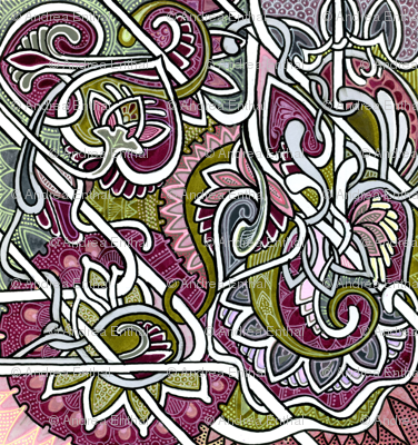 Tendrils and Paisley Love