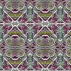 The BIG One (an abstract pseudo floral patchwork in large size)