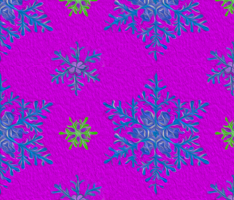 lizs_best_snowflakes fabric by m__elizabethblair on Spoonflower - custom fabric