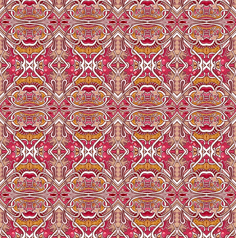 Retro Craftsman Era Diagonal patch or tile fabric by edsel2084 on Spoonflower - custom fabric