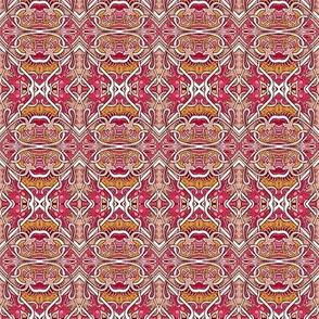 Retro Craftsman Era Diagonal patch or tile