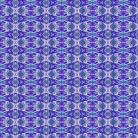 The Shared Purple Spaces of the Octagon, Diamond, and Oval fabric by edsel2084 on Spoonflower - custom fabric