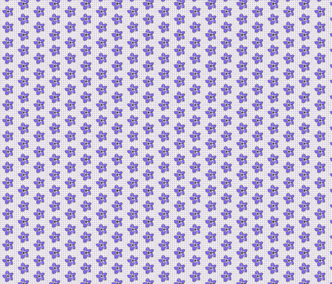 Periwinkle Pattern fabric by koalalady on Spoonflower - custom fabric